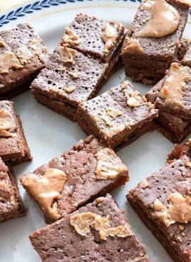 Brownie FIT al cioccolato e burro di arachidi