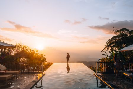 Munduk Moding Plantation – The infinity pool in Bali